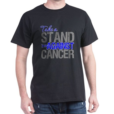 Take a Stand Colon Cancer Dark T-Shirt