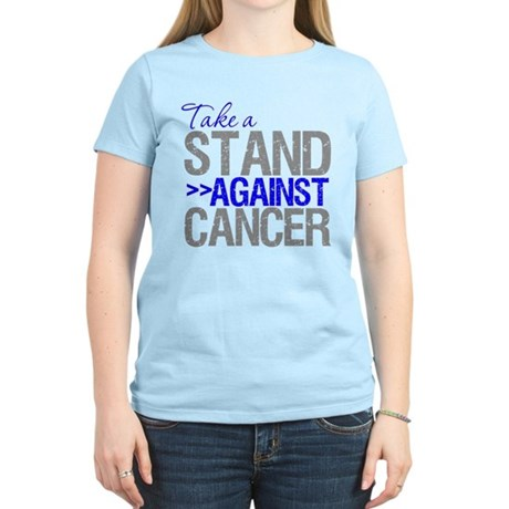 Take a Stand Colon Cancer Women's Light T-Shirt