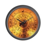 """Glowing Dial"" Wall Clock"