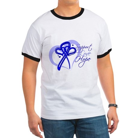 Support Hope Colon Cancer Ringer T