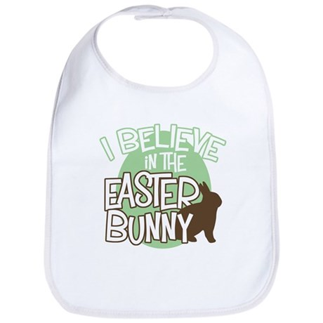 Believe Easter Bunny Bib