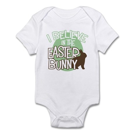Believe Easter Bunny Infant Creeper
