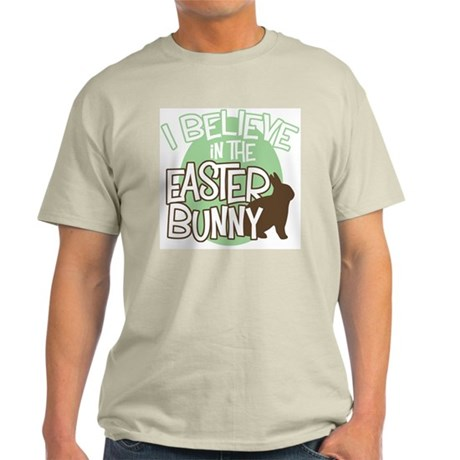 Believe Easter Bunny Light T-Shirt