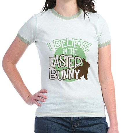 Believe Easter Bunny Jr. Ringer T-Shirt