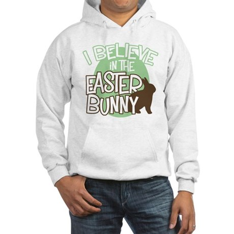 Believe Easter Bunny Hooded Sweatshirt