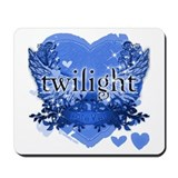 Twilight Midnight Blue Mousepad