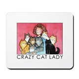 Cat Lover Computer Mousepad