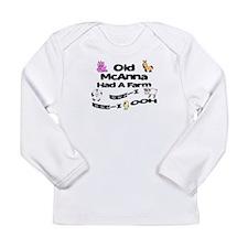 Old McAnna Had a Farm Long Sleeve Infant T-Shirt
