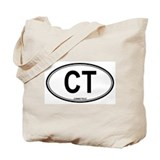 Connecticut (CT) euro Tote Bag