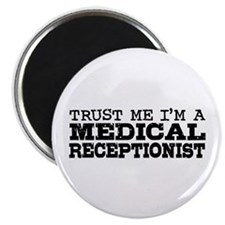 Medical Receptionist Magnet