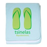 Big Tsinelas baby blanket