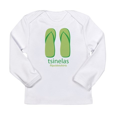 Big Tsinelas Long Sleeve Infant T-Shirt