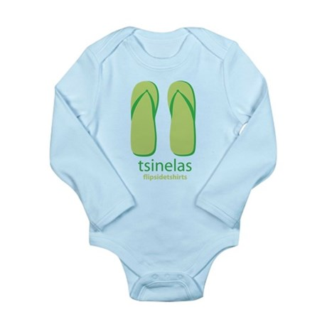 Big Tsinelas Long Sleeve Infant Bodysuit