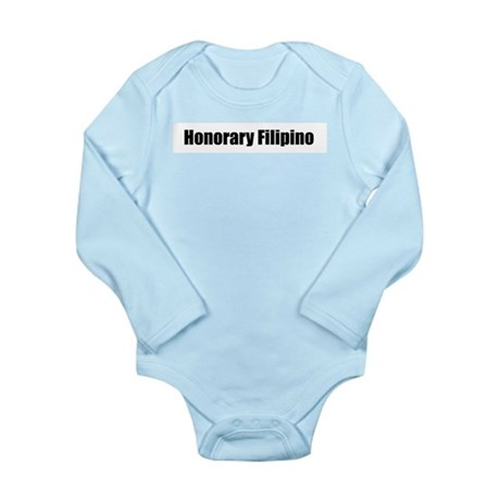 Honorary Filipino Long Sleeve Infant Bodysuit