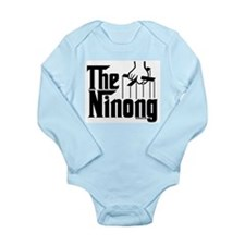 The Ninong Long Sleeve Infant Bodysuit