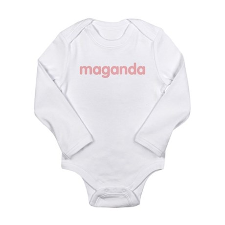 maganda Long Sleeve Infant Bodysuit