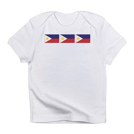 Philippine Flags Infant T-Shirt