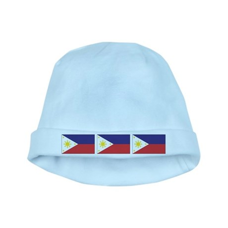 Philippine Flags baby hat