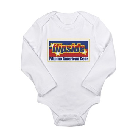 FlipsideTshirts Long Sleeve Infant Bodysuit