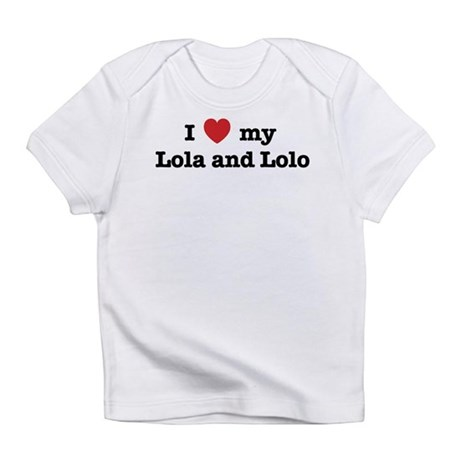 I Love my Lola and Lolo Infant T-Shirt