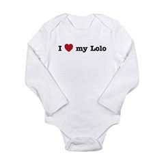 I Love My Lolo Long Sleeve Infant Bodysuit