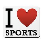 I Love Sports Mousepad