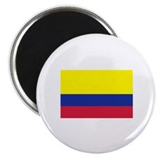 """Colombia flag 2.25"""" Magnet (100 pack)"""