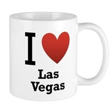 I Love Las Vegas Small Mug