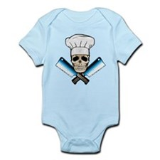 Chef Skull--Color 1-- Infant Bodysuit