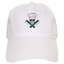 Chef Skull--Color 1-- Baseball Cap
