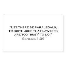 Paralegal / Genesis Decal
