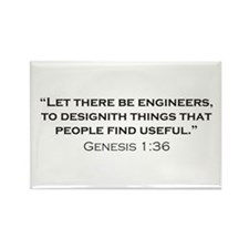 Engineer / Genesis Rectangle Magnet