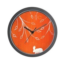 Bunny Bower1 Wall Clock