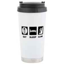 eat seep climb Ceramic Travel Mug