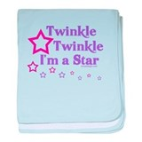 Twinkle Twinkle I'm a Star baby blanket