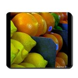 Citrus Fruits Mousepad