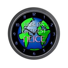 World's Greatest Niece Wall Clock