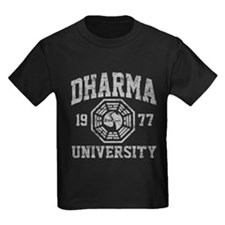 Dharma Univ Kids Dark T-Shirt