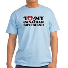 I Love My Canadian Boyfriend T-Shirt