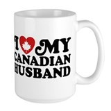 I Love My Canadian Husband Coffee Mug