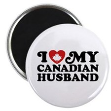 I Love My Canadian Husband Magnet