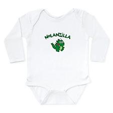 Nolanzilla Long Sleeve Infant Bodysuit