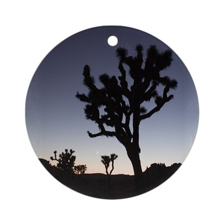 Joshua Tree Twilight Ornament (Round)