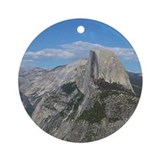 Yosemite - Half Dome Ornament (Round)