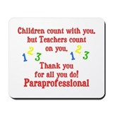 Paraprofessional Mousepad