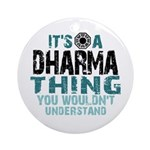 Dharma Thing Ornament (Round)