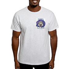 Skeezix the Diva Ash Grey T-Shirt