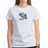 Massachusetts Lighthouses Tee