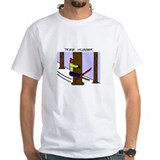 Skiing Tree Hugger T-Shirt