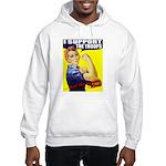 Rosie Supports The Troops Hooded Sweatshirt